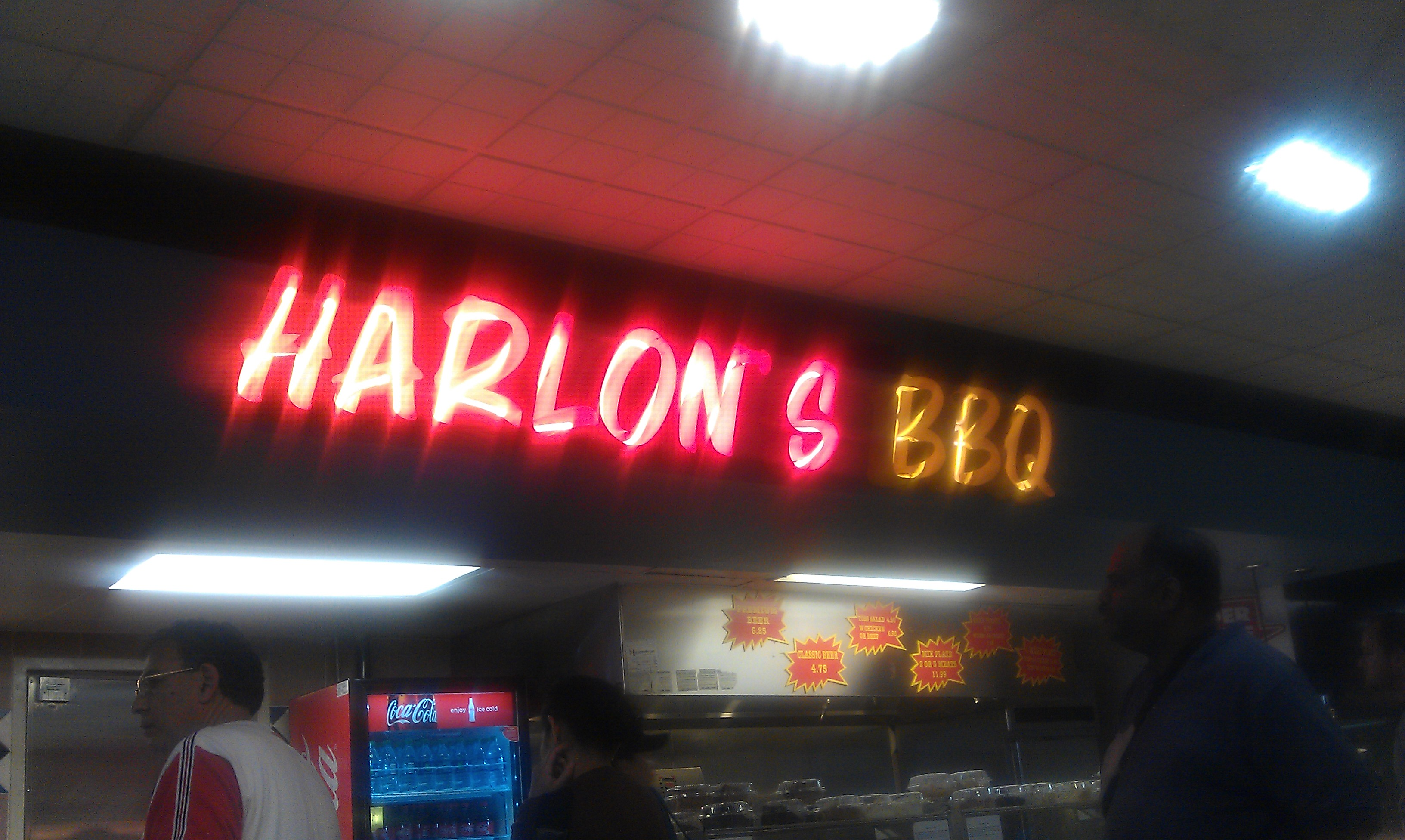 Harlon S Bbq At Iah Houston Intercontinental Airport